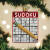 Sudoku Ornament by Old World Christmas
