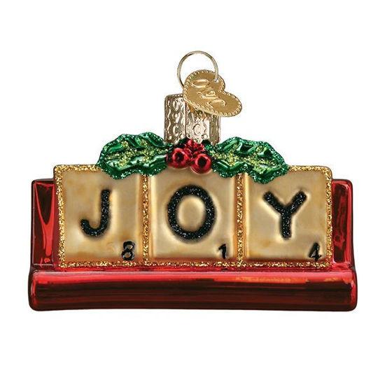 Joyful Scrabble Ornament by Old World Christmas