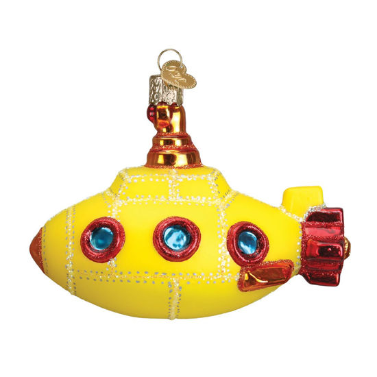 Groovy Submarine Ornament by Old World Christmas