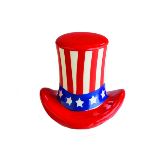 Home of the Free (Uncle Sam Hat) Mini by Nora Fleming