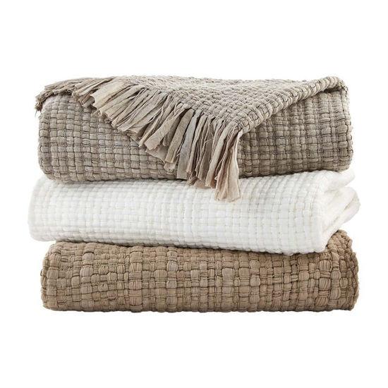 Fringe Blanket (Assorted) by Mudpie