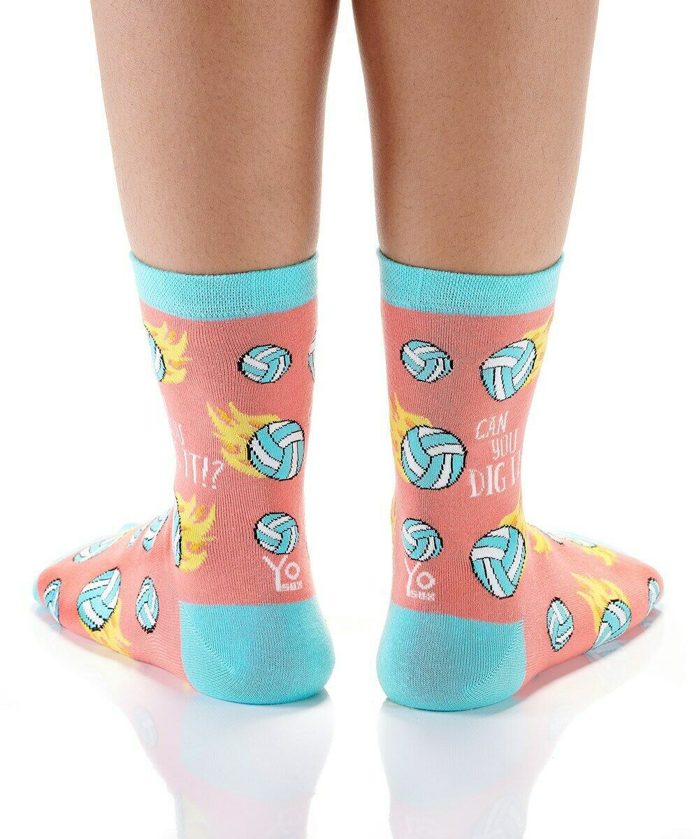 Can You Dig It Women's Crew Socks by Yo Sox