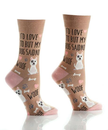 Boss Dog Women's Crew Socks by Yo Sox