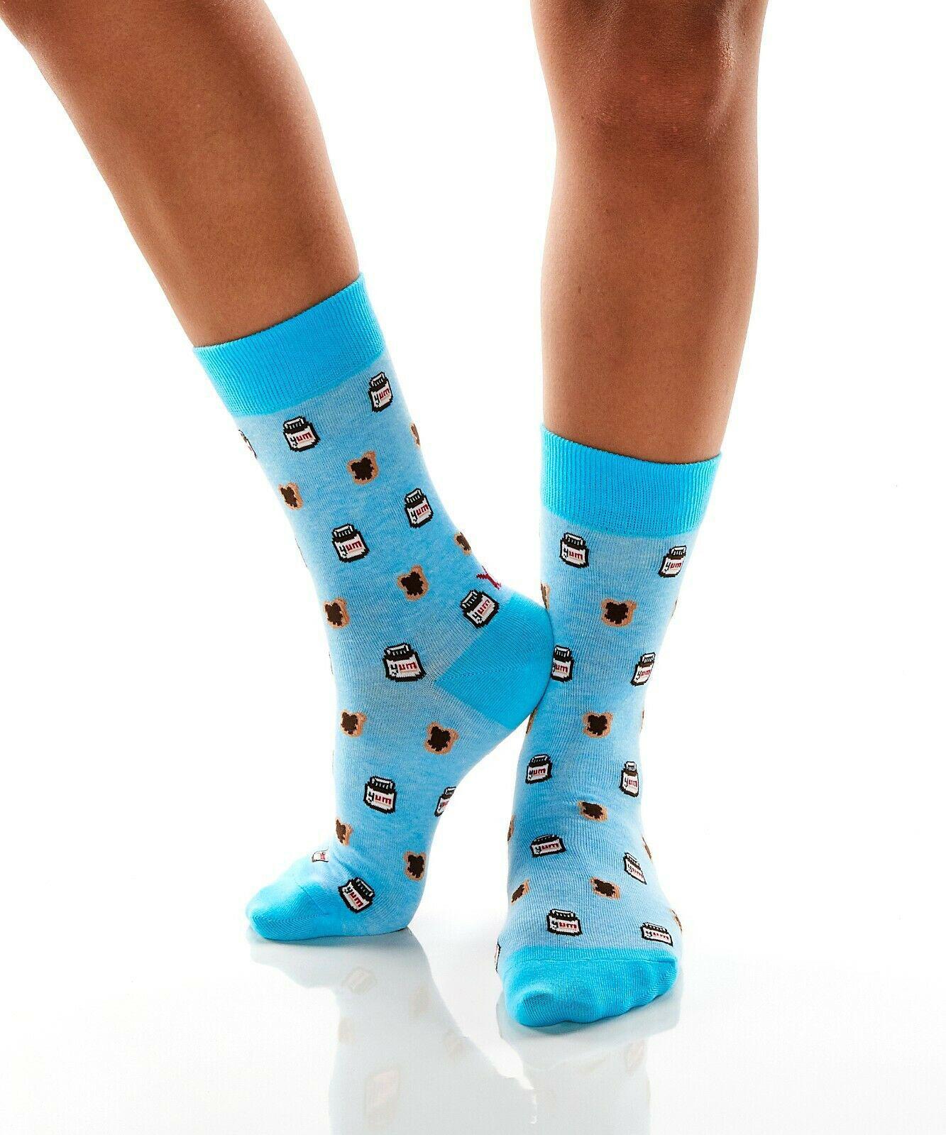 Snack of Champions Women's Crew Socks by Yo Sox