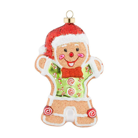 Gingerbread Man Ornament by Kat + Annie