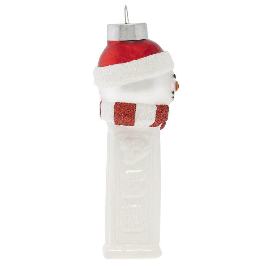 Snowman PEZ Dispenser Ornament by Kat + Annie