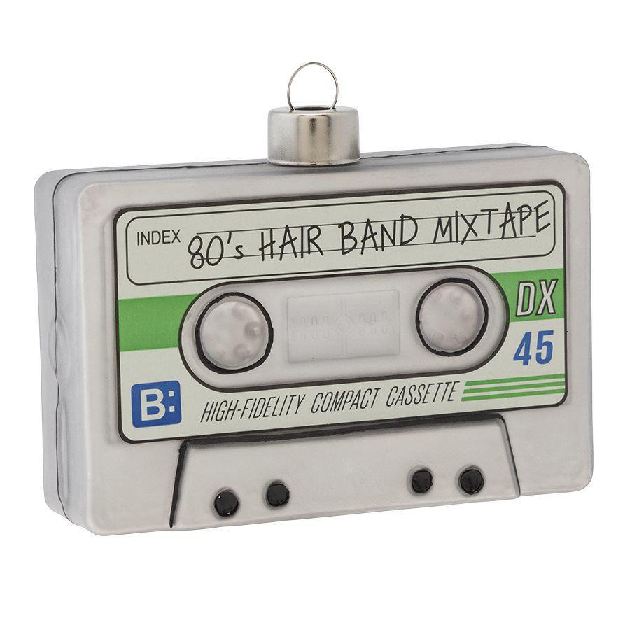 Vintage Cassette Tape Ornament by Kat + Annie