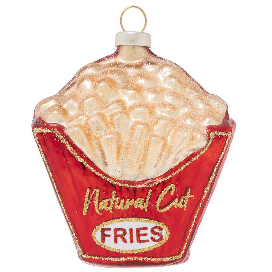 Natural Cut Fries Ornament by Kat + Annie