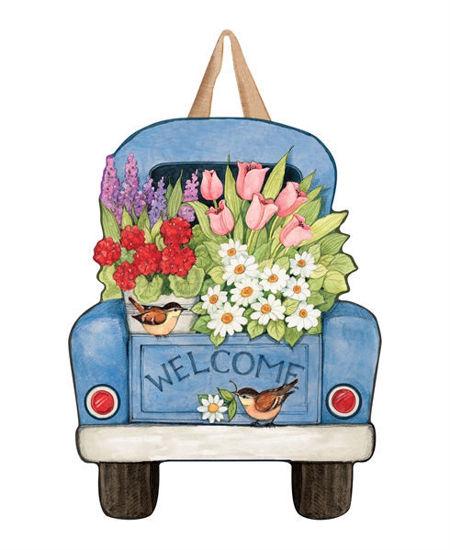 Flower Pickin' Time Door Decor by Studio M
