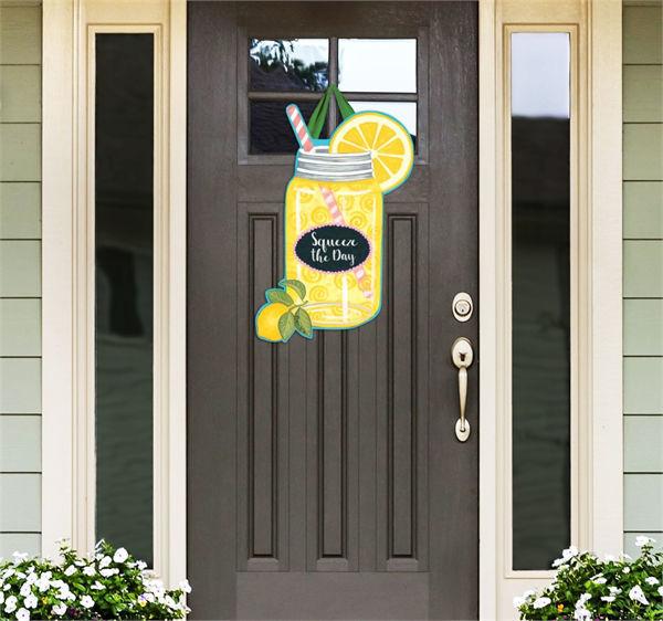Squeeze the Day Door Decor by Studio M