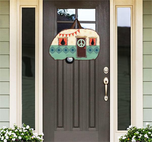 Happy Life Door Decor by Studio M