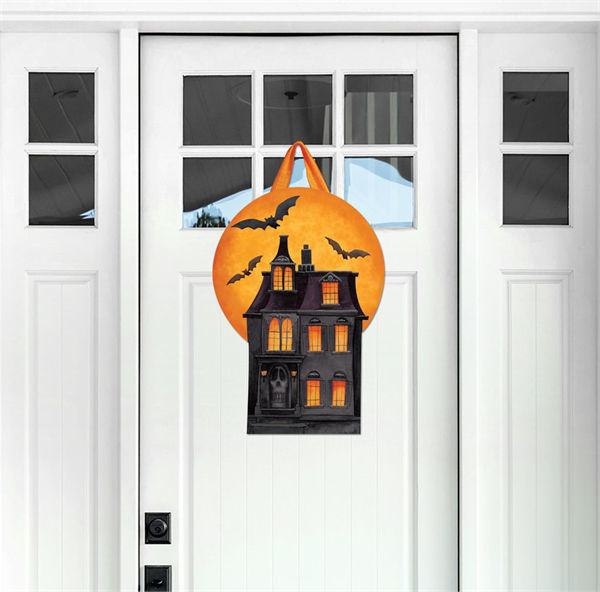 Dark Manor Door Decor by Studio M