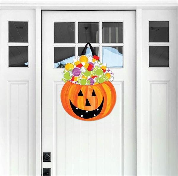 Halloween Candy Door Decor by Studio M