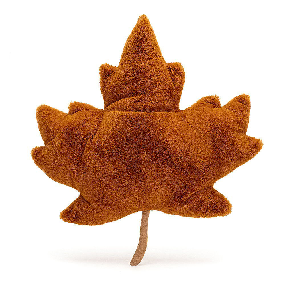 Woodland Maple Leaf by Jellycat