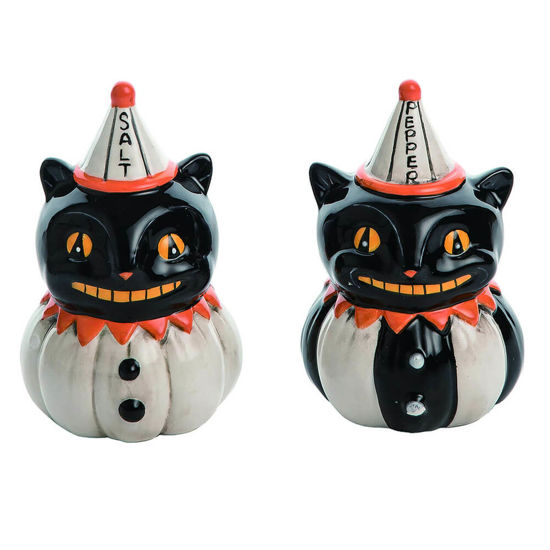 Black Cat S&P Shaker Set by Transpac