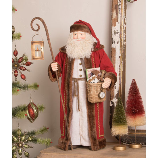Elegant Father Christmas by Bethany Lowe