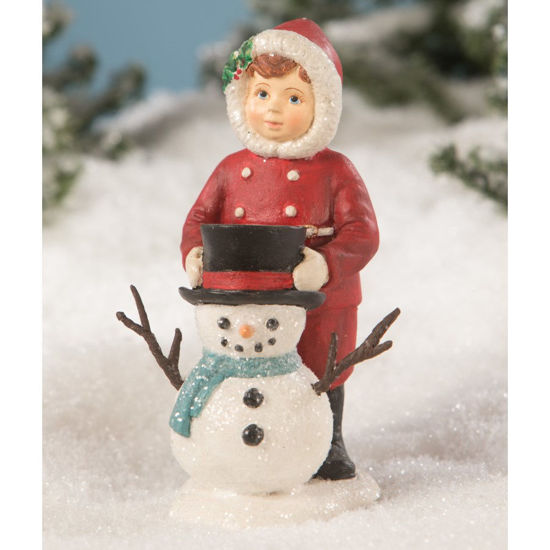 Dolly Dressing Snowman by Bethany Lowe
