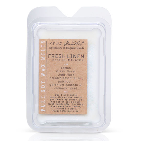 Fresh Linen Melters by 1803 Candles