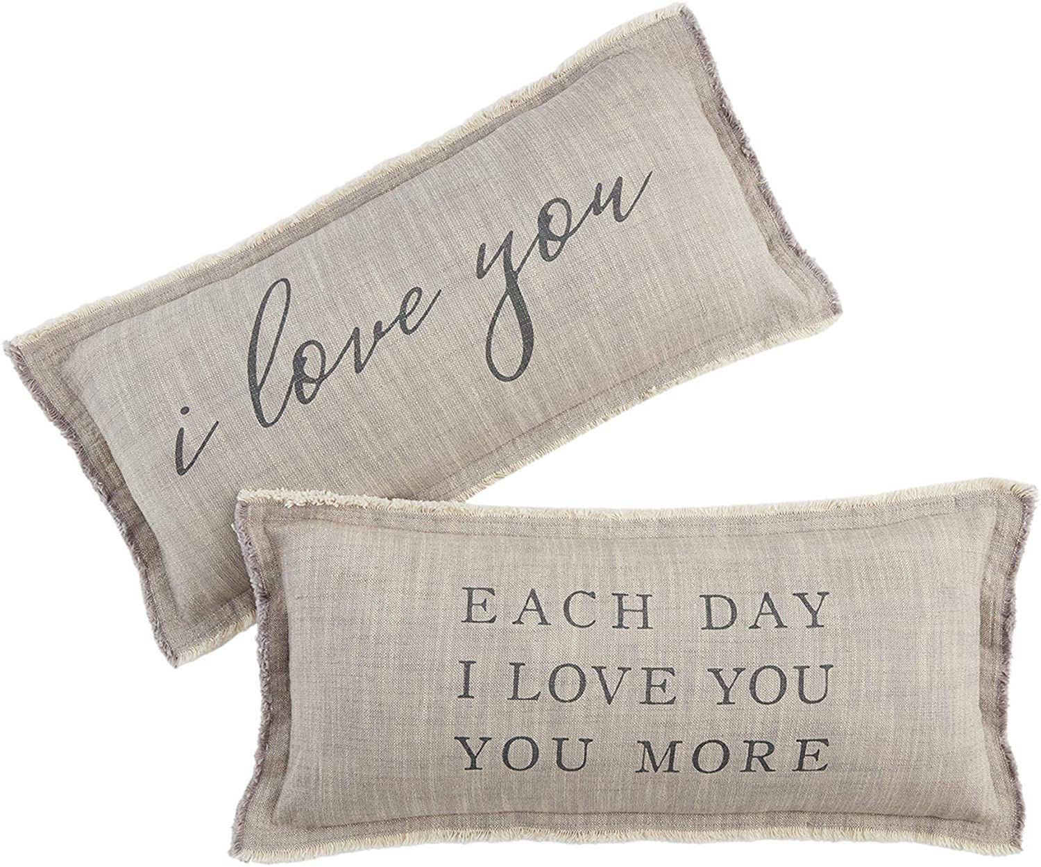 Each Day Love Pillow by Mudpie