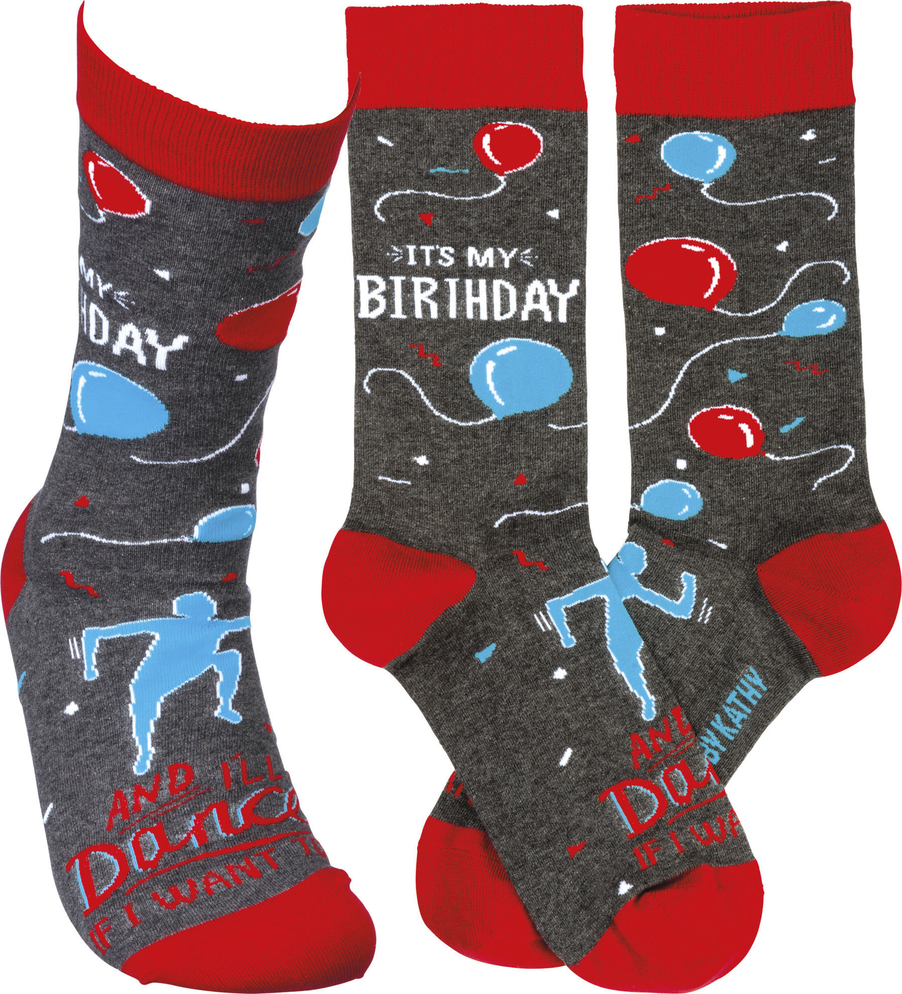 It's My Birthday Socks by Primitives by Kathy