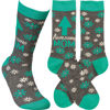 Awesome Mom Socks by Primitives by Kathy