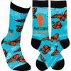 Awesome Bonus Mom Socks by Primitives by Kathy