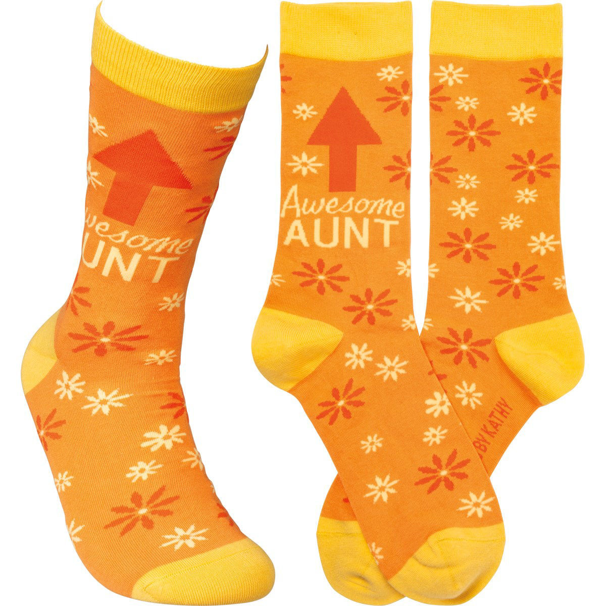 Awesome Aunt Socks by Primitives by Kathy