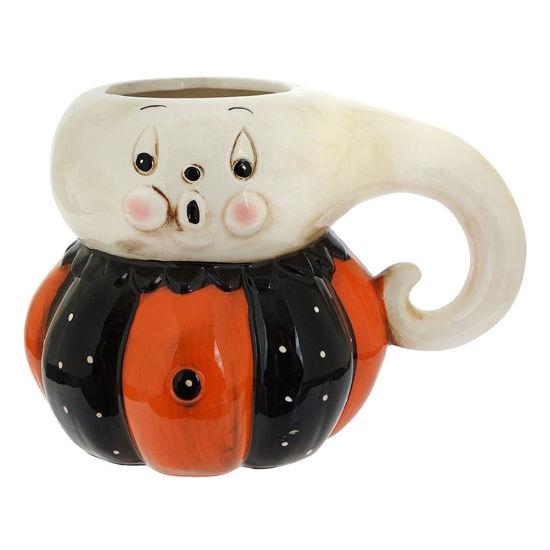 Ghost Pumpkin Peep Mug by Transpac