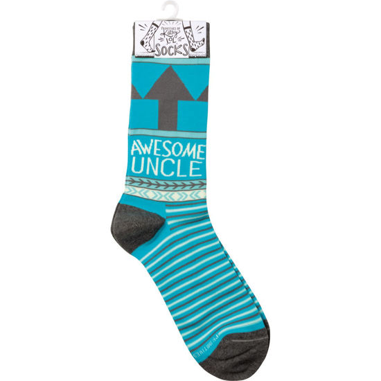 Awesome Uncle Socks by Primitives by Kathy
