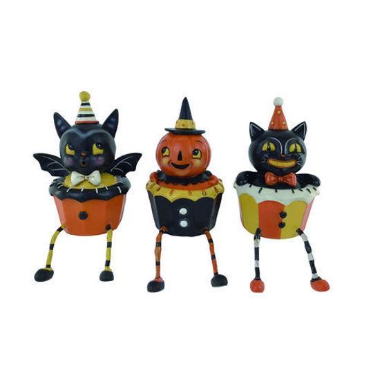 Halloween Cupcake Shelf Sitter Set by Transpac
