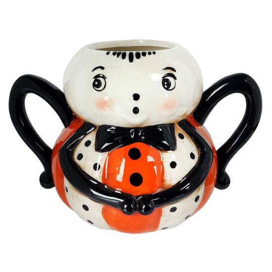 Spider Pumpkin Peep Mug by Transpac