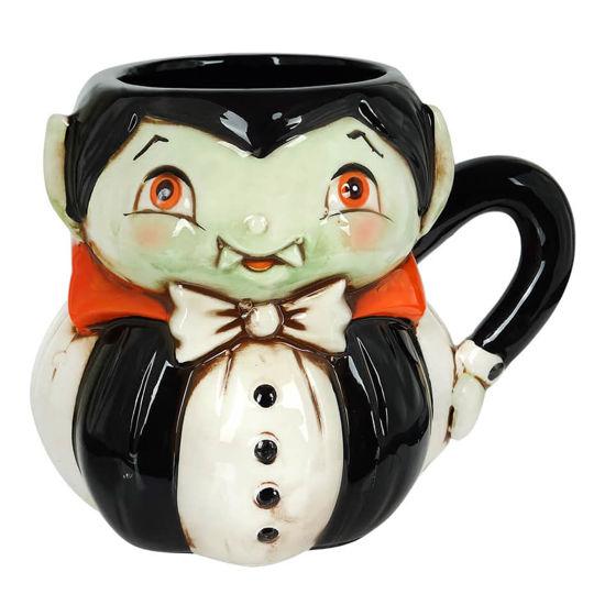 Dracula Pumpkin Peep Mug by Transpac