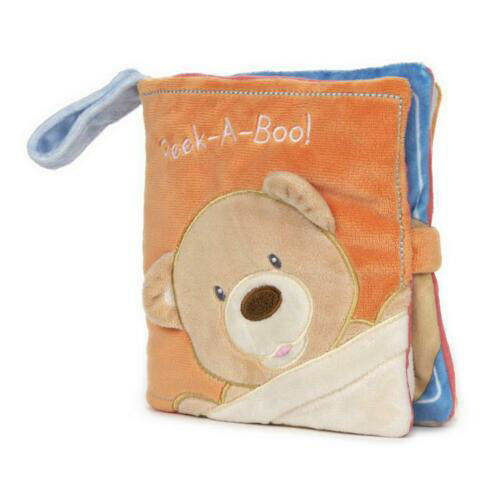 Peek-a-Boo Bear Soft Book by Gund