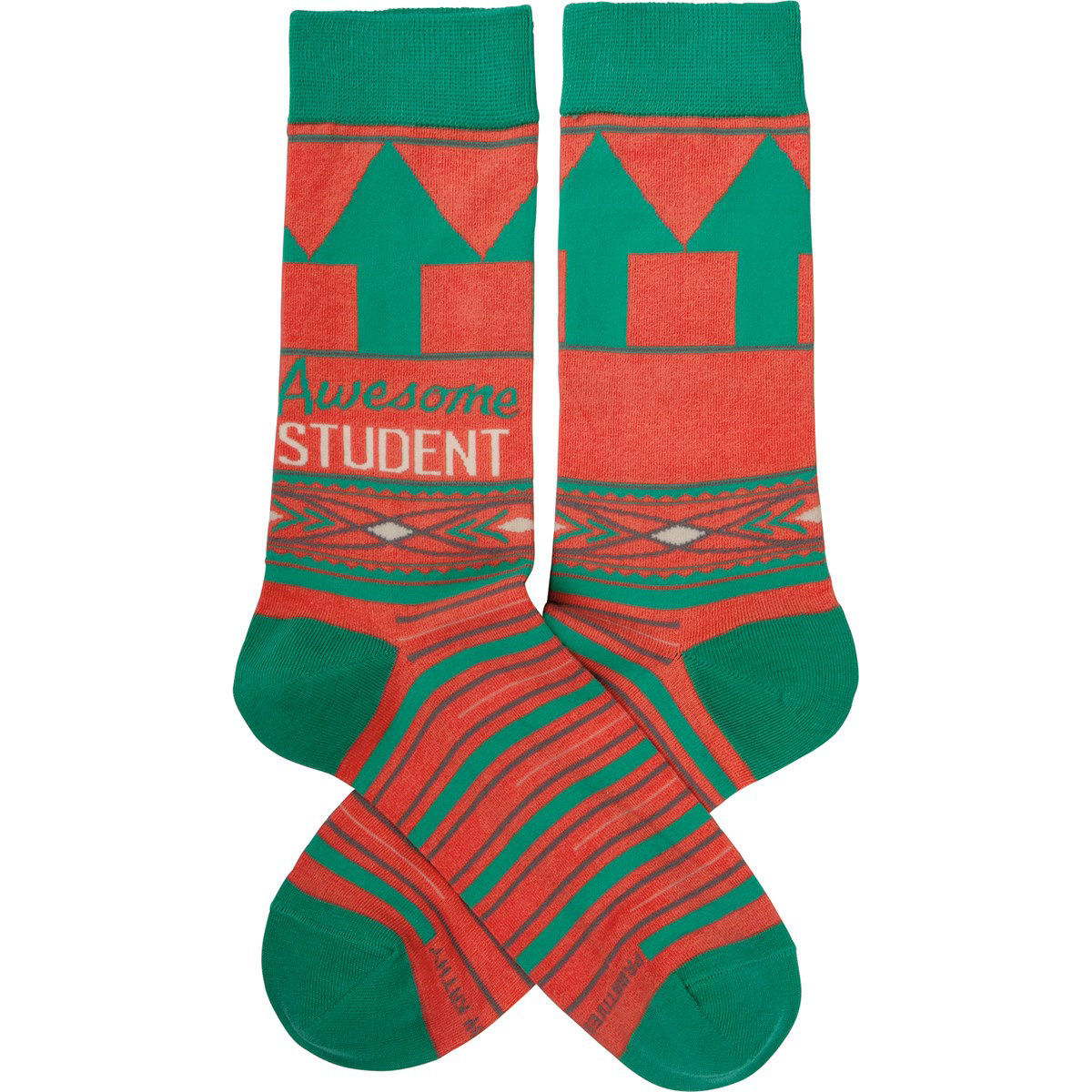 Awesome Student Socks by Primitives by Kathy