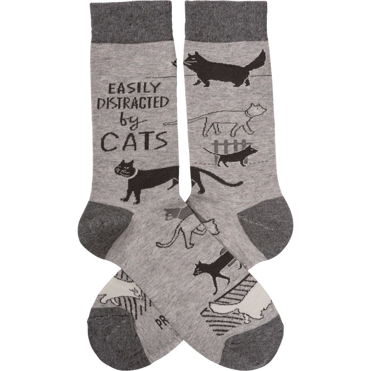 Easily Distracted Socks by Primitives by Kathy