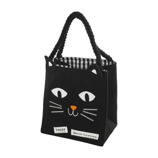Black Cat Halloween Candy Bag by Mudpie