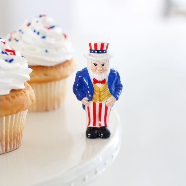 All American (Uncle Sam) Mini by Nora Fleming