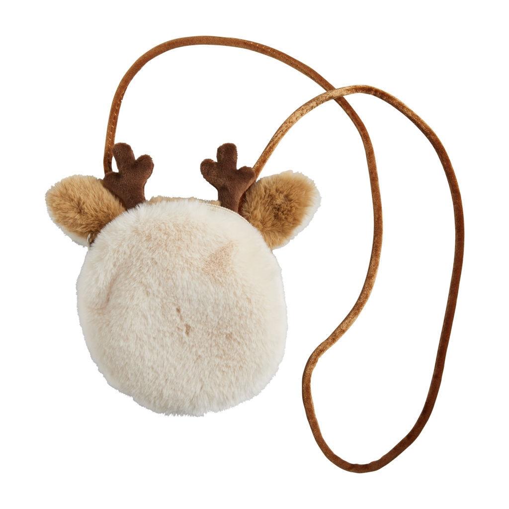 Reindeer Fur Purse by Mudpie