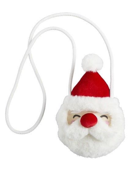 Santa Fur Purse by Mudpie