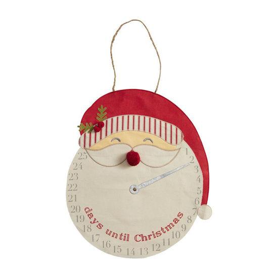 Santa Clock Countdown by Mudpie