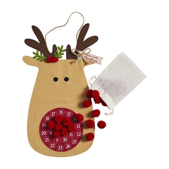 Reindeer Countdown Hanger by Mudpie