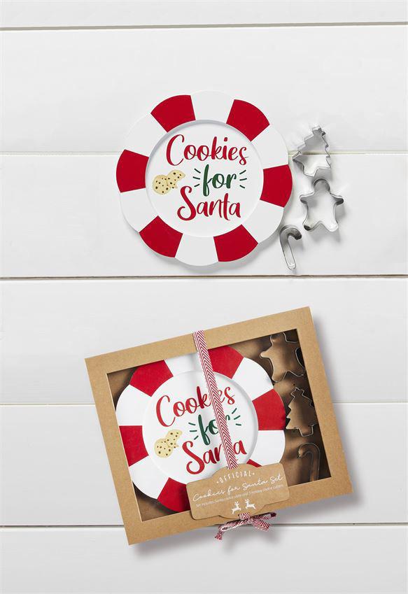 Cookies for Santa Baking Set by Mudpie