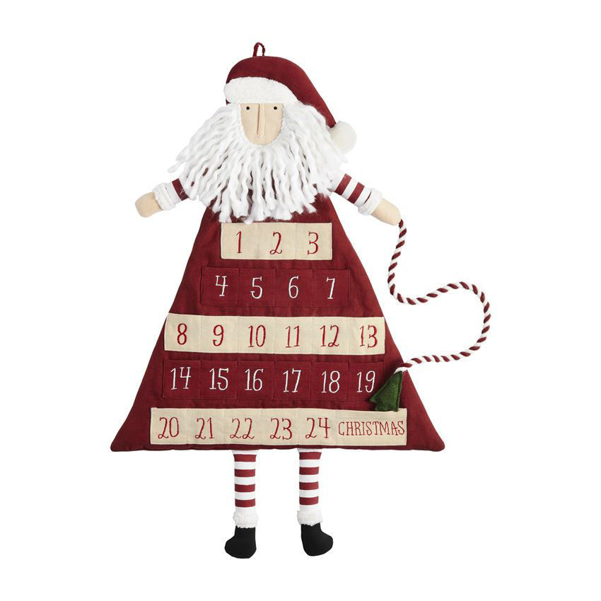 Santa Advent Calendars (Assorted) by Mudpie