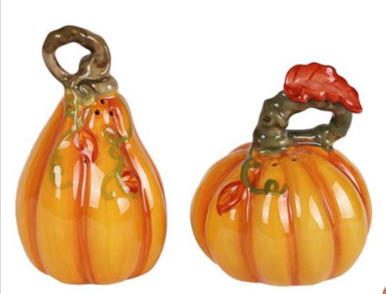 Pumpkin Salt & Pepper Harvest Color Set by Blue Sky Clayworks
