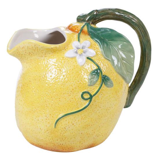 Citron 3-D Lemon Pitcher by Certified International