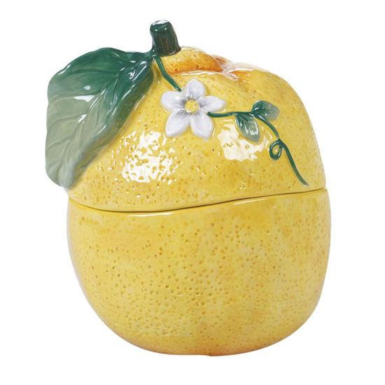Citron 3-D Lemon Covered Bowl by Certified International