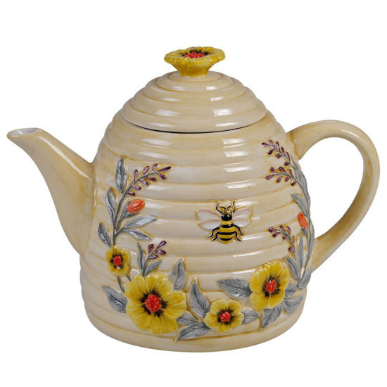 Bee Sweet 3-D Beehive Teapot by Certified International