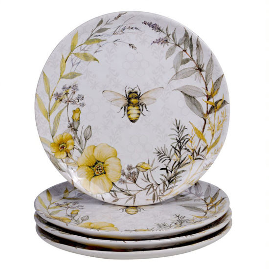 Bee Sweet Dinner Plate by Certified International