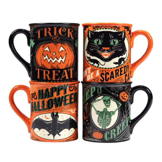 Scaredy Cat Mug Set by Certified International