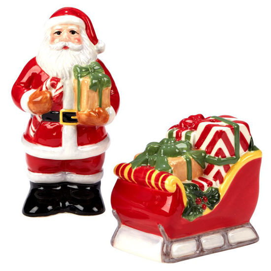 Santa's Workshop 3-D Salt & Pepper Set by Certified International